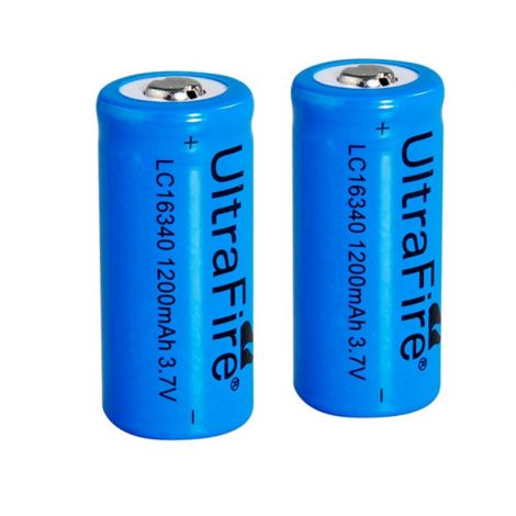 2 batterie Ultrafire 16340